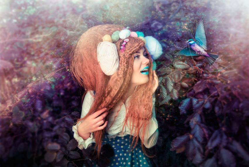 Hella in Cottonland – Hoe gebruik je MUAH in een fantasy shoot?