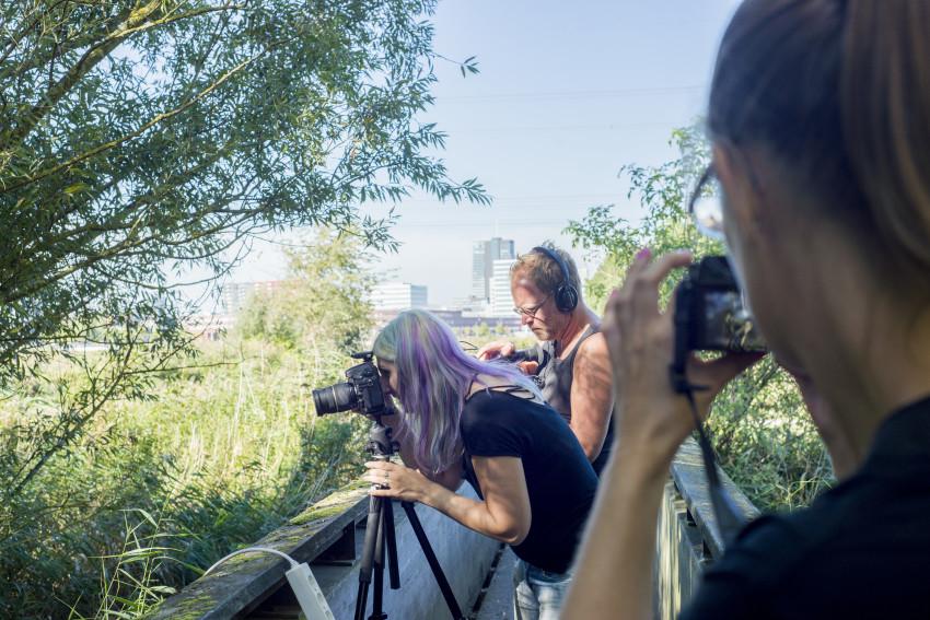Behind the Scenes: Omroep Flevoland bij Original Cin